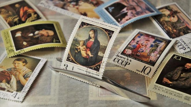 how to value a stamp collection