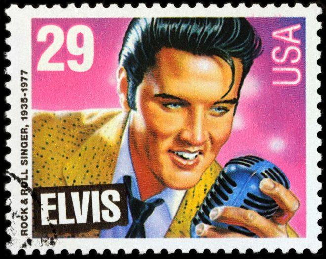 Elvis Presley Best Selling Commemorative Stamp