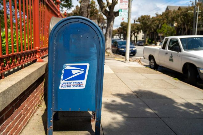 USPS Collection Box / USPS Blue Box