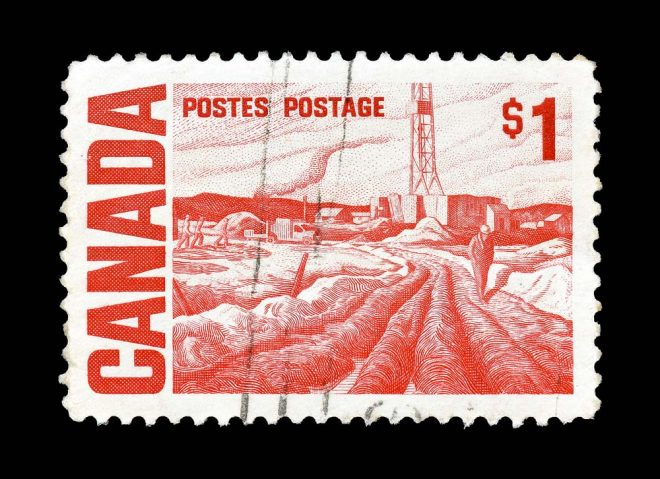 first class postage to canada