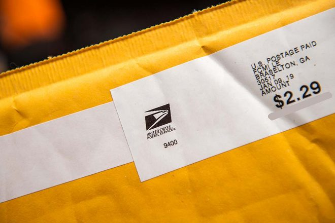 postage pricing changes 2021