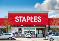 does staples sell postage stamps